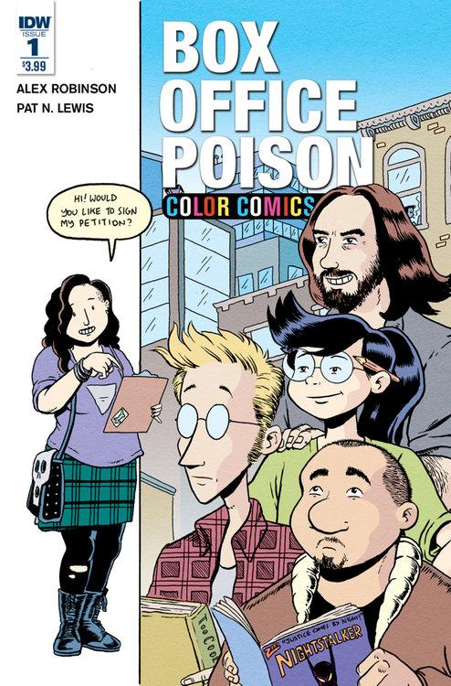 Adult comic catalog