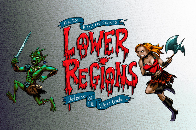 Lower Regions: Defense of the West Gate
