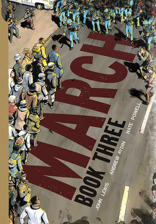 March: Book Three -- HARDCOVER