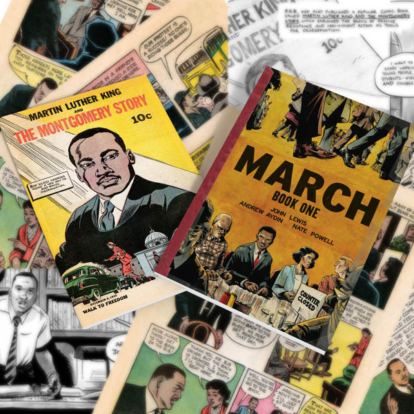 March: Book One + Martin Luther King and The Montgomery Story (digital bundle)