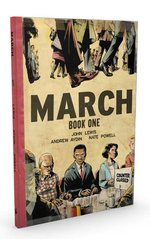 March (Book One) -- OVER-SIZED DELUXE HARDCOVER EDITION