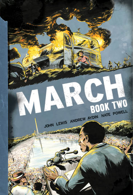 March (Book Two) -- SIGNED & NUMBERED HARDCOVER