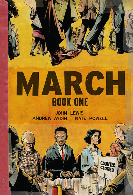 March (Book One) - AUTOGRAPHED SOFTCOVER