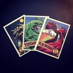 Monster on the Hill - Trading Card Set