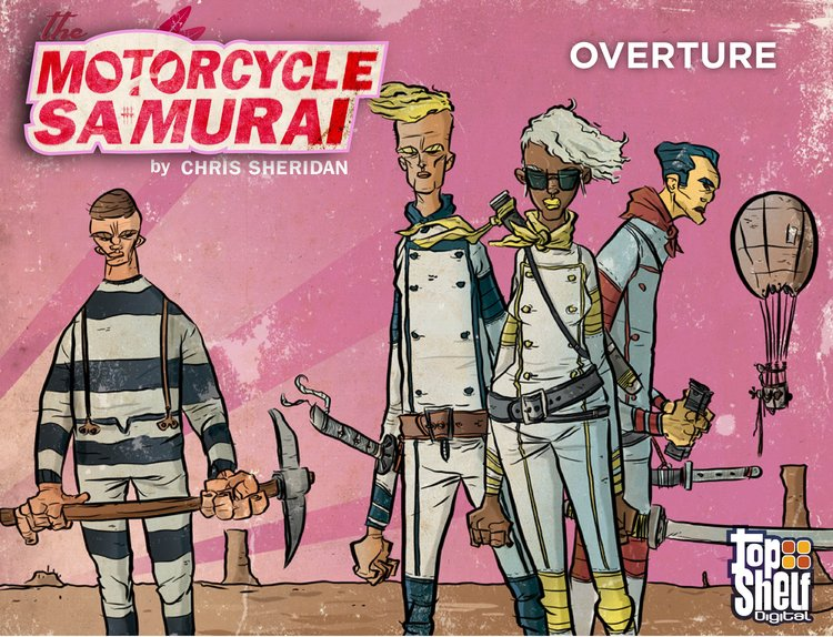 The Motorcycle Samurai #1: Overture