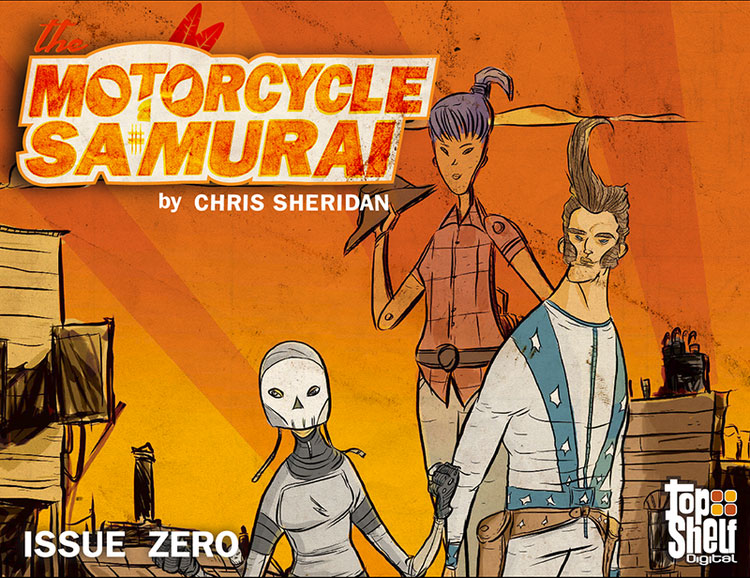 The Motorcycle Samurai: Issue Zero