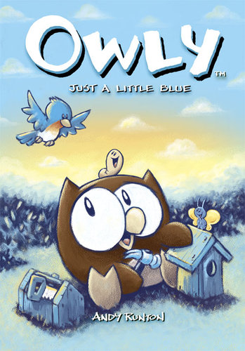 Owly (Vol 2): Just a Little Blue