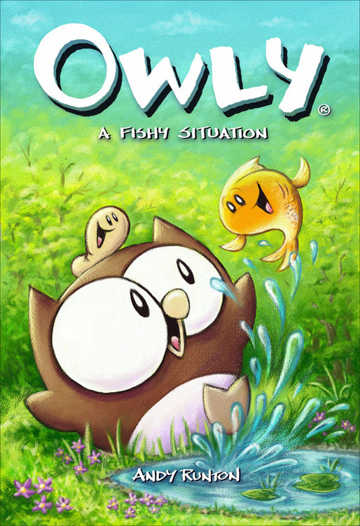 Owly (Vol 6): A Fishy Situation
