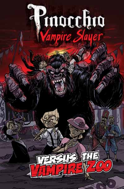 Pinocchio Vampire Slayer vs The Vampire Zoo