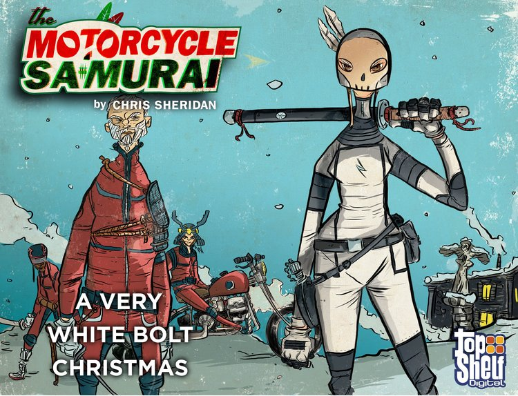 The Motorcycle Samurai: A Very White Bolt Christmas