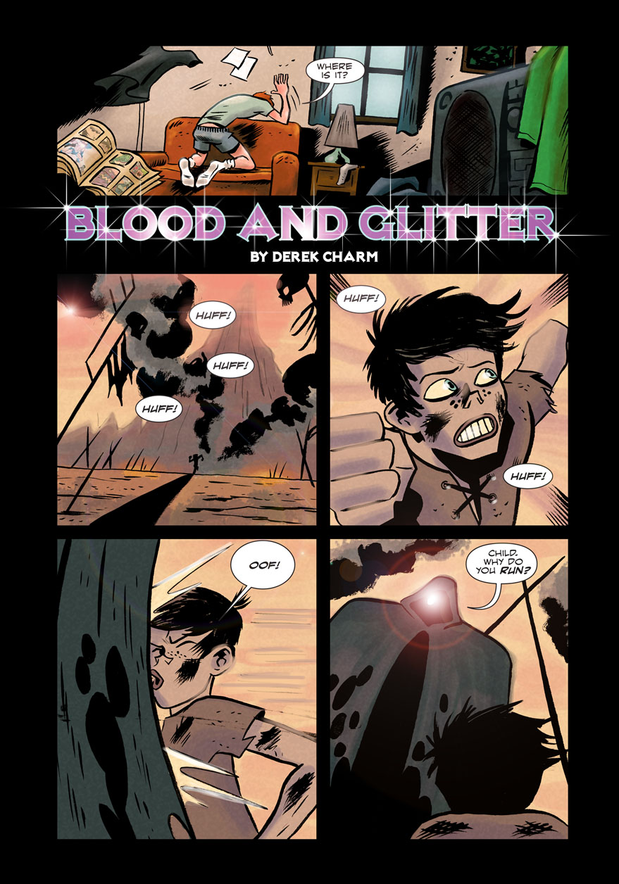 Blood and Glitter - Page 1