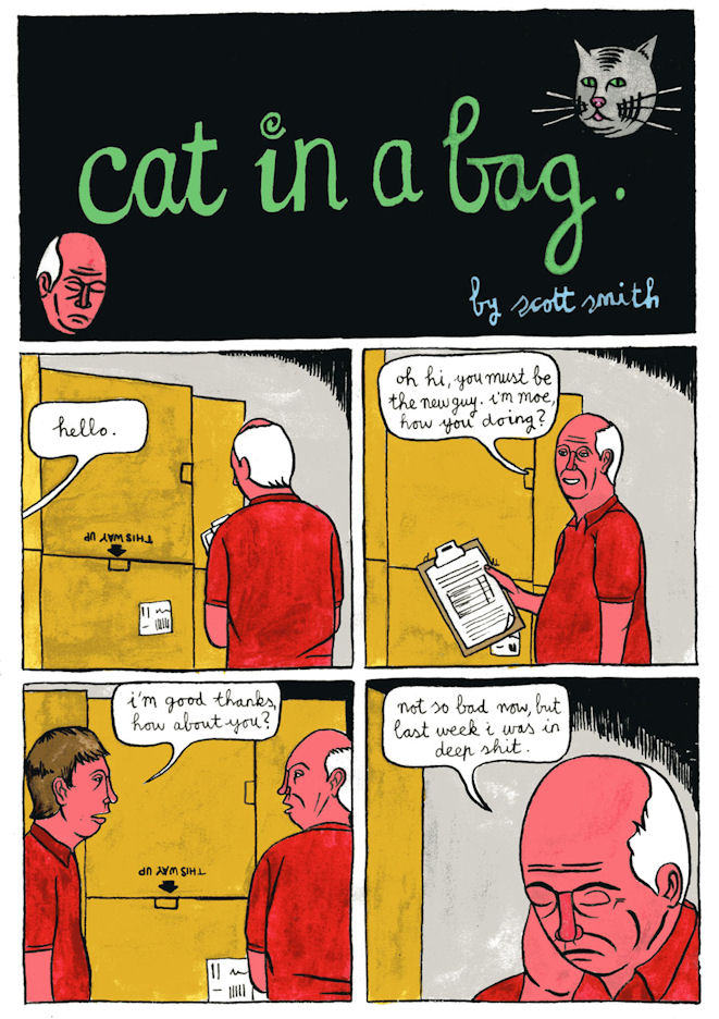 Cat in a Bag - Page 1