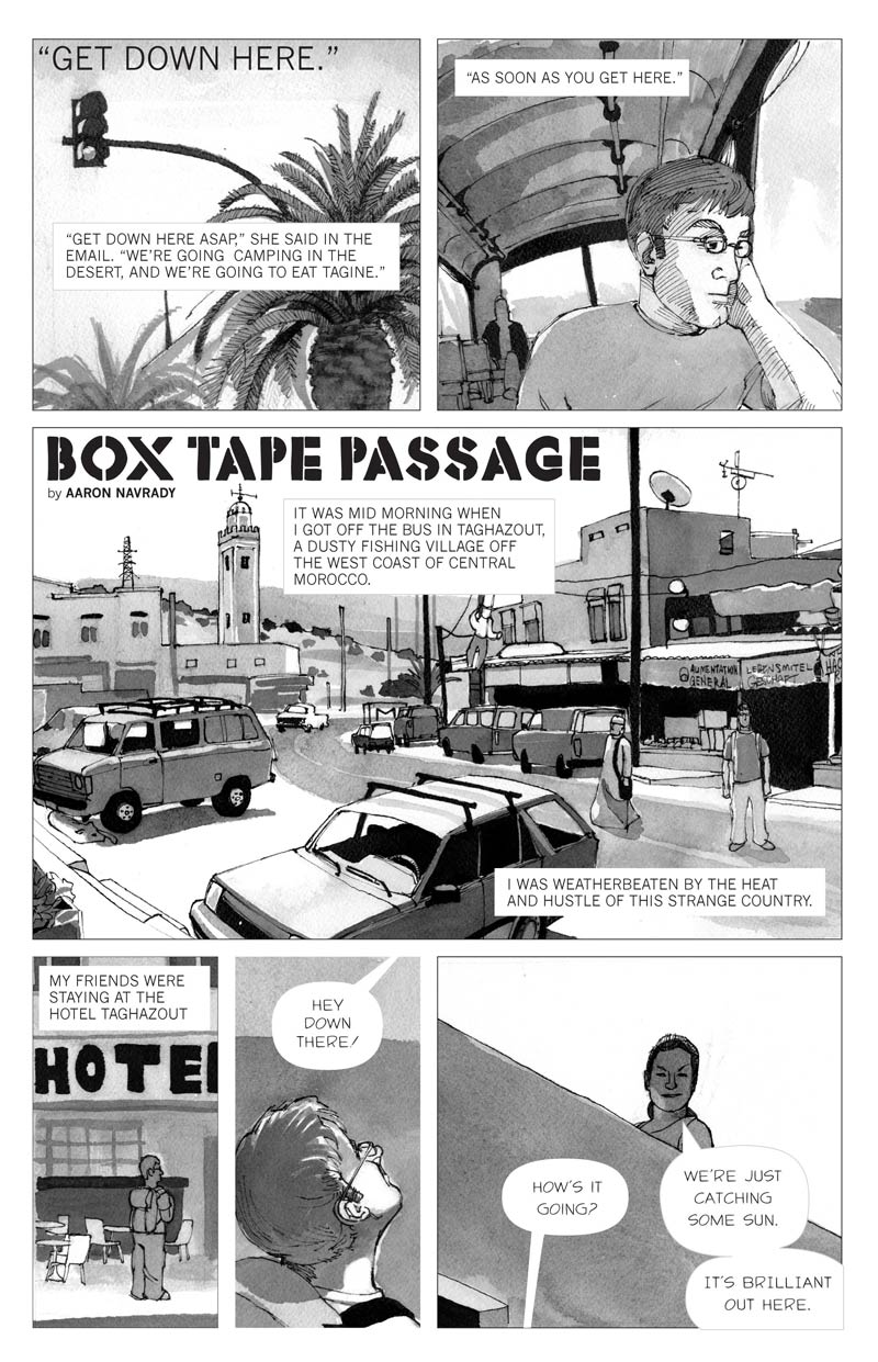 Box Tape Passage - Page 1