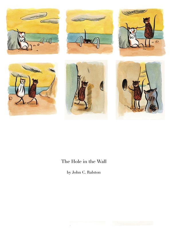The Hole in the Wall, part 1 - Page 1
