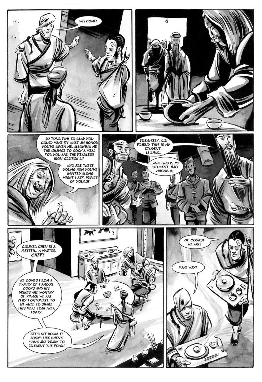 Infinite Kung Fu, part 1 - Page 2