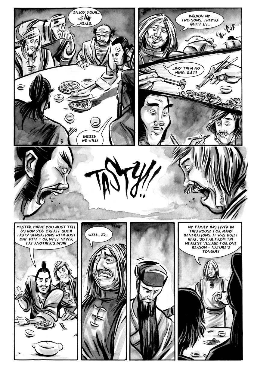 Infinite Kung Fu, part 1 - Page 3