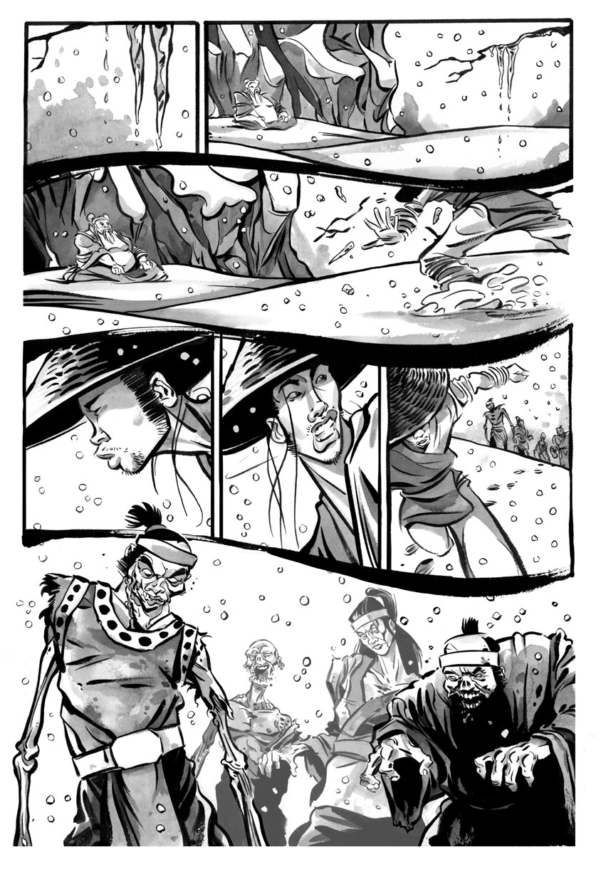 Infinite Kung Fu, part 3 - Page 1