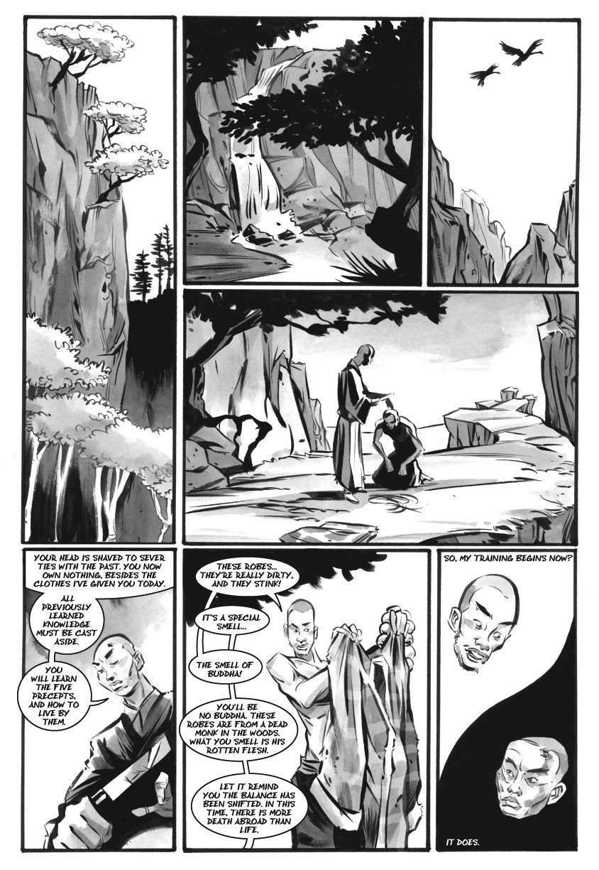 Infinite Kung Fu, part 4 - Page 1