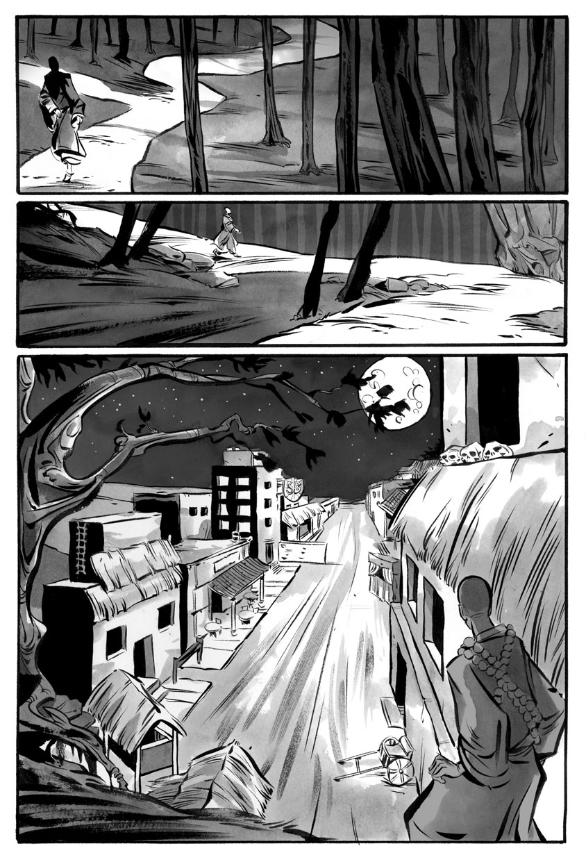 Infinite Kung Fu, part 5 - Page 1