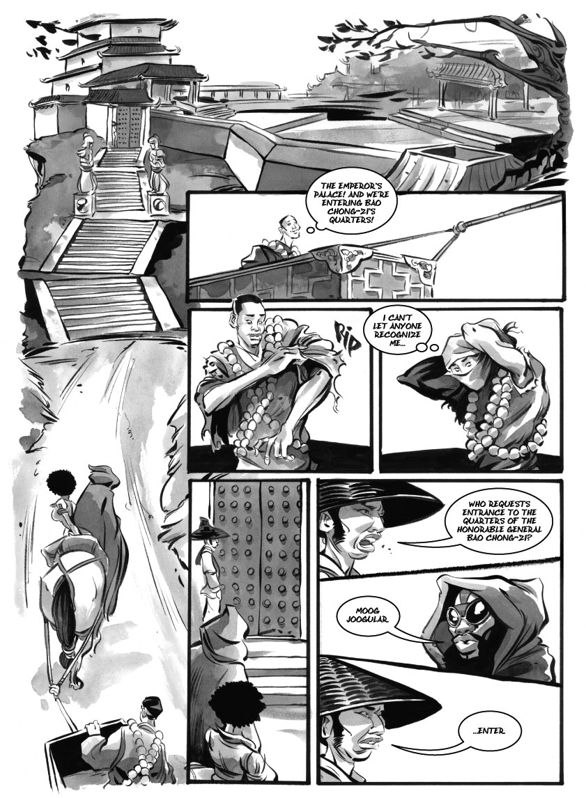 Infinite Kung Fu, part 6 - Page 3