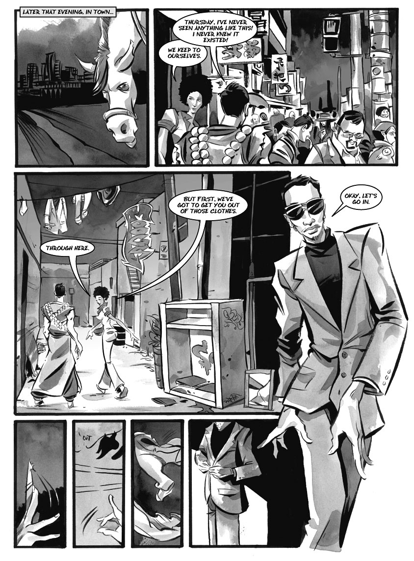 Infinite Kung Fu, part 9 - Page 1