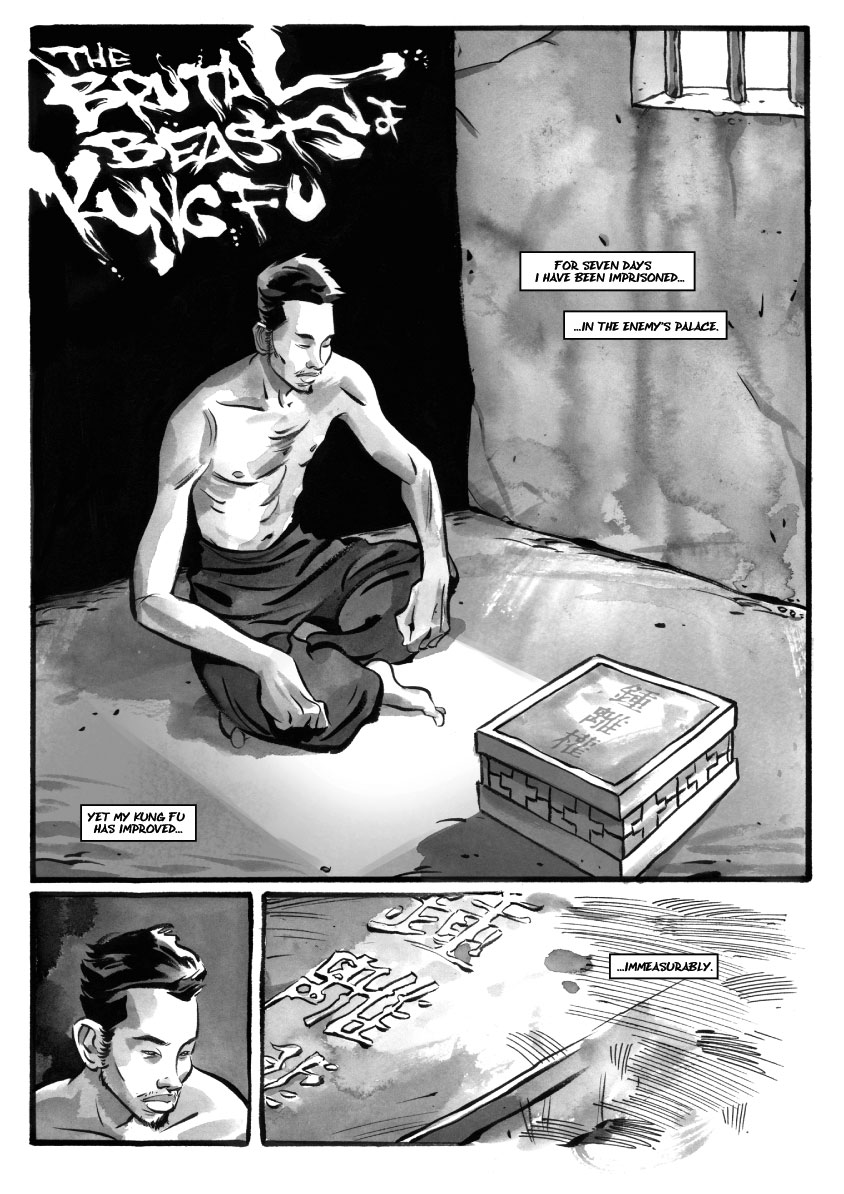 Infinite Kung Fu, part 11 - Page 1