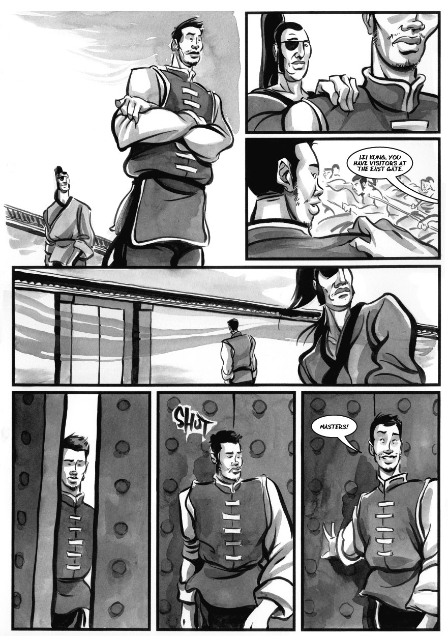 Infinite Kung Fu, part 17 - Page 2