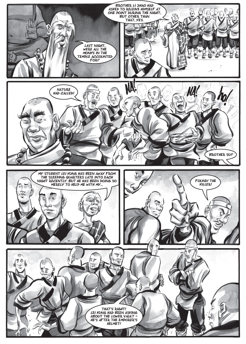 Infinite Kung Fu, part 26 - Page 2