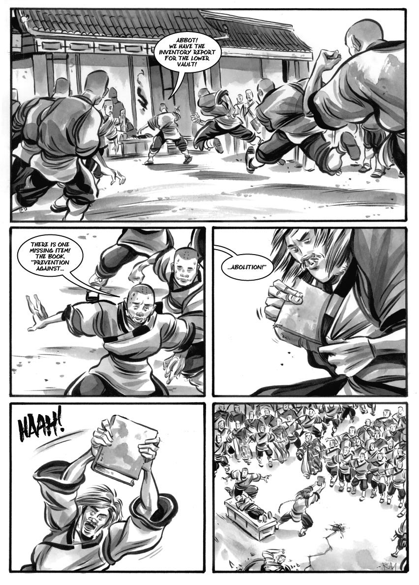Infinite Kung Fu, part 27 - Page 1