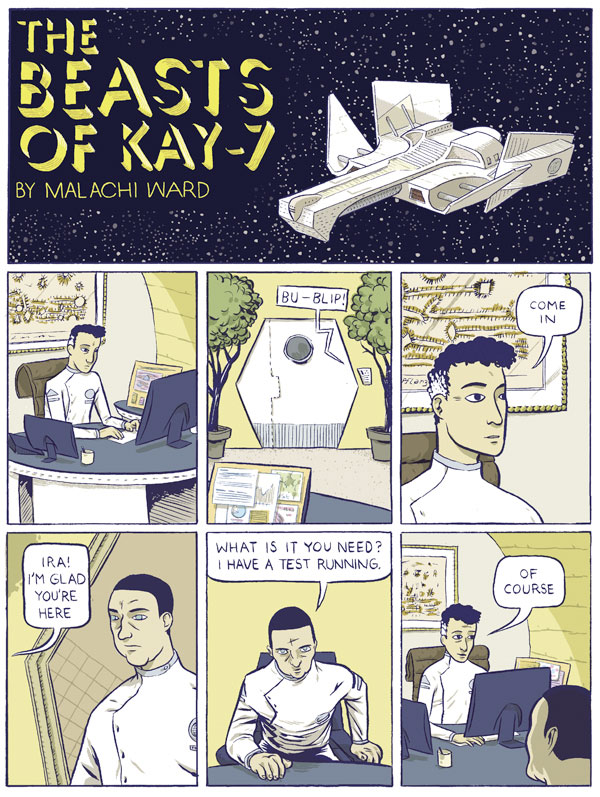 The Beasts of Kay-7 - Page 1