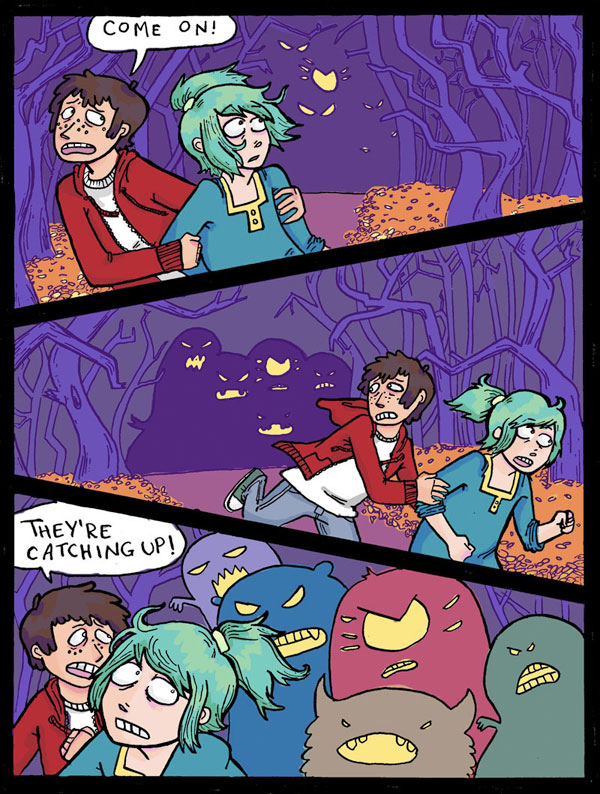 Monster Chase - Page 1