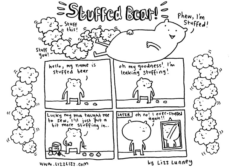 Stuffed bear - Page 1