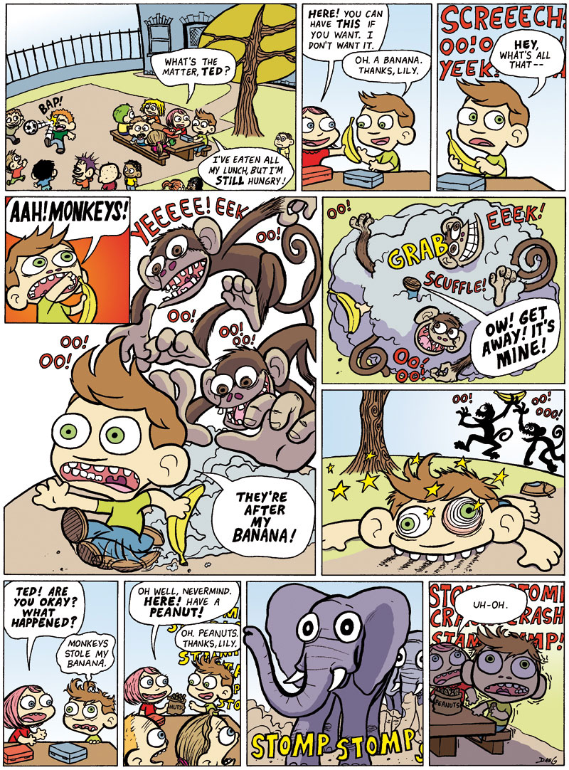 Ted and the Animals, part 1 - Page 1