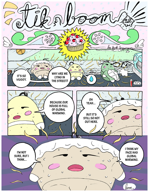 Tikboom: Global Warming, part 1 - Page 1