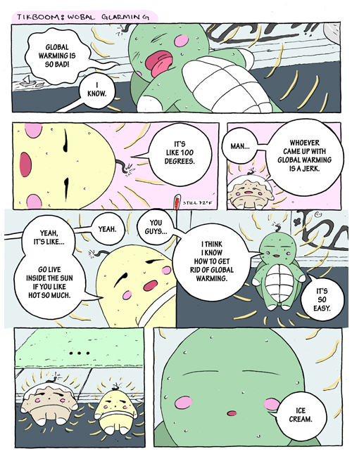 Tikboom: Global Warming, part 1 - Page 2