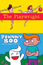 Image for Coming in June: THE PLAYWRIGHT and a new JOHNNY BOO!