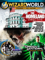 Image for Wizard cover story on THE HOMELAND DIRECTIVE!