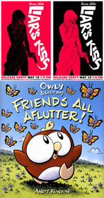Image for Eric Skillman plants LIAR'S KISS on New York! Andy Runton brings OWLY to Maine!