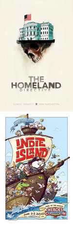 Image for THE HOMELAND DIRECTIVE launches this weekend at Heroes Con!