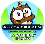 Image for The 2012 Free Comic Book Day button features OWLY!