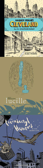 Image for Ignatz nominees: CLEVELAND, LUCILLE, PTERODACTYL HUNTERS!
