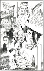 Image for Kevin O'Neill offers LEAGUE original art for sale!