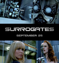 Image for The Science of THE SURROGATES: new featurette includes unseen movie footage!